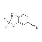 4-chloro-3-(trifluoromethoxy)benzonitrile  CAS NO.:886501-50-4