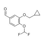 4-(Difluoromethoxy)-3-(Cyclopyopyopylmethoxy)-Benzaldehyde