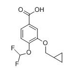 3-Cyclopropylmethoxy-4-difluoromethoxy-benzoic acid