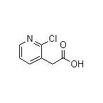 2-(2-chloropyridin-3-yl)acetic acid  CAS NO.:61494-55-1