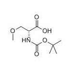 D-Serine,N-[(1,1-dimethylethoxy)carbonyl]-O-methyl