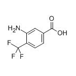 3-amino-4-(trifluoromethyl)benzoic acid  CAS NO.:125483-00-3