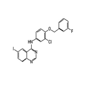 High Quality N-[3-chloro-4-[(3-fluorophenyl)methoxy]phenyl]-6-iodo-4-quinazolinamine Cas 231278-20-9