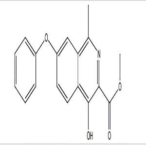 Methyl 4-hydroxy-1-methyl-7-phenoxyisoquinoline-3-carboxylate  CAS NO.:1421312-34-6