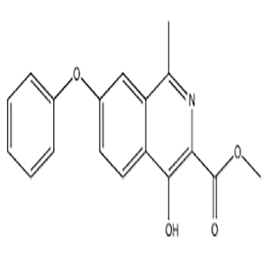 4-Hydroxy-7-phenoxy-3-isoquinolinecarboxylic acid methyl ester  CAS NO.:1455091-10-7