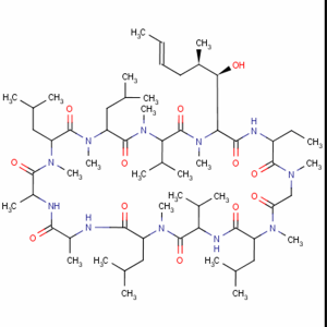 Cyclosporine A   CAS NO.:59865-13-3