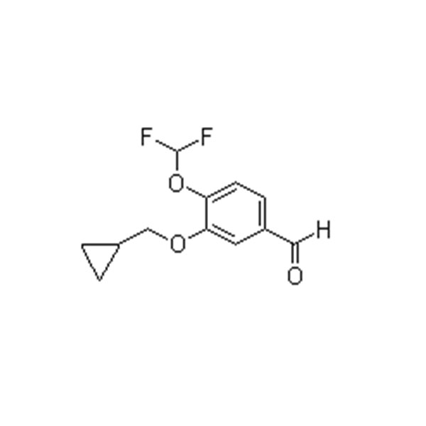 4-(difluoromethoxy)-3-(cyclopropylmethoxy)-benzaldehyde    CAS NO.:151103-09-2 Featured Image
