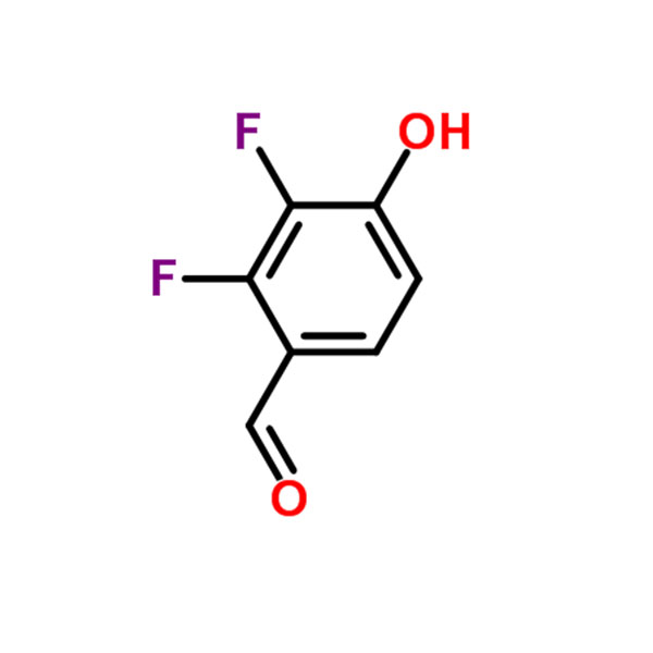 2,3-difluoro-4-hydroxybenzaldehyde CAS NO.:676500-39-3 Featured Image