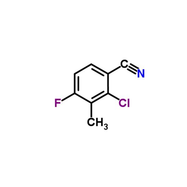2-chloro-4-fluoro-3-methylbenzonitrile  CAS NO.:796600-15-2 Featured Image