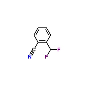 2-difluoromethylbenzonitrile  CAS NO.:799814-30-5